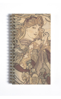 Blankbook DL Woman with a Daisy