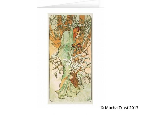 Greeting card Winter