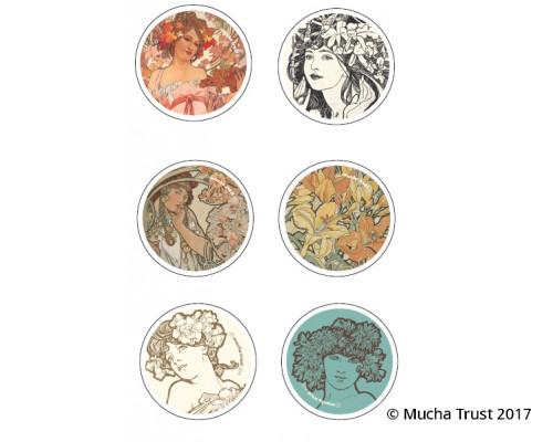 Set of pins I.