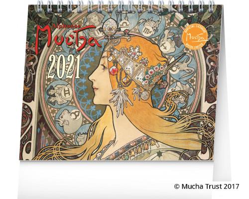 Desk calendar Alphonse Mucha 2021