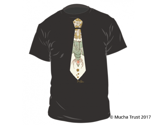 T-shirt Dragon / Tie