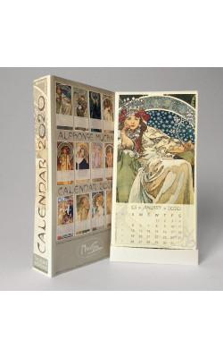 Calendar Mucha 2020
