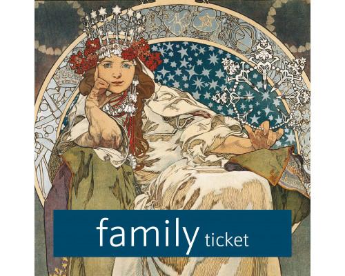 Mucha museum - Family ticket