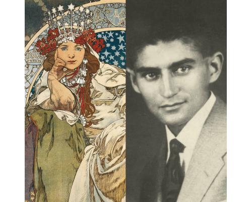 Mucha & Kafka Museum combined gift ticket