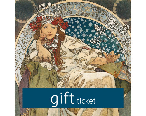 Mucha Museum - Gift ticket